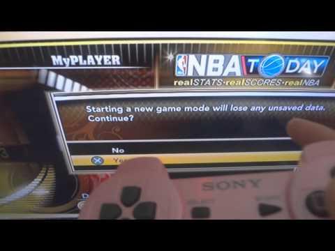 NBA 2K13 - How to restart your myCareer