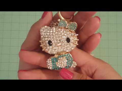 Blingy HK & Felt Love Neen felt unicorn bead purse dangles!