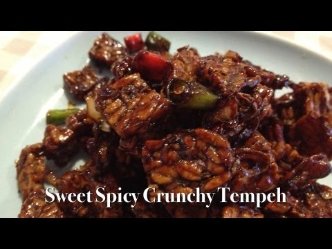 Sweet Spicy Crunchy Tempeh