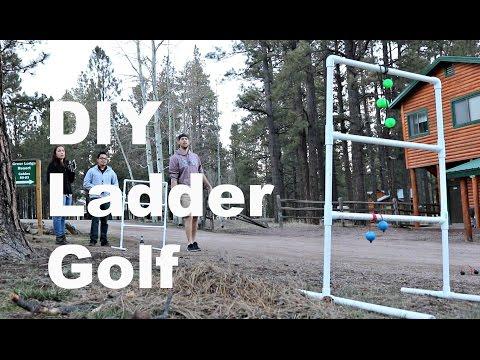 DIY Ladder Golf Build