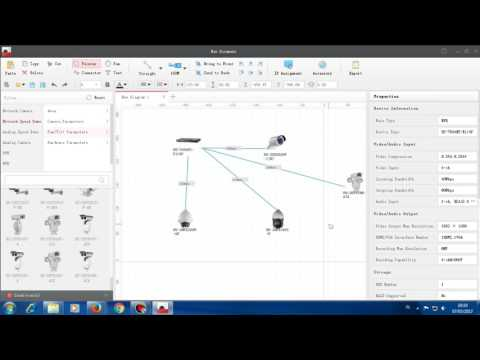 Hik Connect - How To Draw System Diagram Surveillance With Hik Design Tool