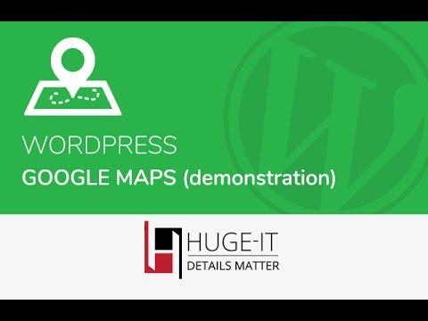 Huge-IT Google Maps Demonstration