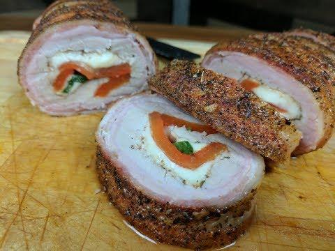 Stuffed Pork Tenderloin Recipe | Rectec Pellet Grills