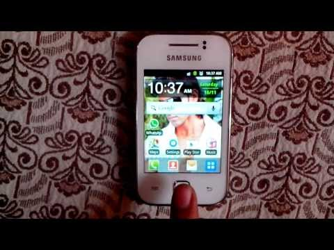How to take Screenshot in Samsung Galaxy Y S5360