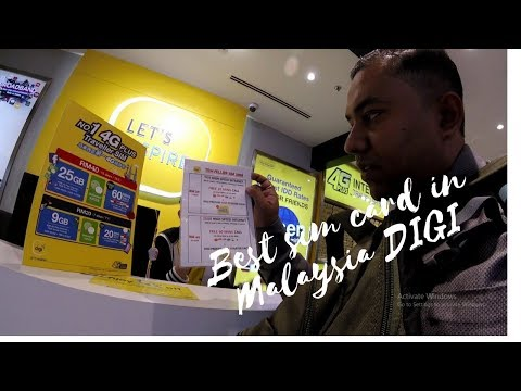 Best atm and sim card in Malaysia