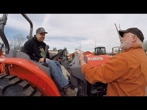 Kubota Compact Tractor Test Drive; First Impressions,  Feature Descriptions and A Great Dealership