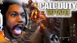 THE BEST (worst) COD PLAYER | Call of Duty: WWII [Beta]