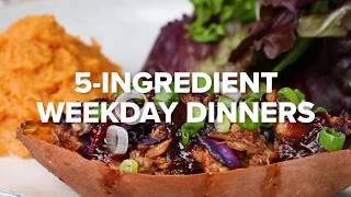 5-Ingredient Weekday Dinner • Tasty