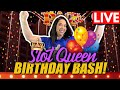 Download           🔴 LIVE SLOTS FROM DOWNTOWN LAS VEGAS 🎰 👑SLOT QUEENS BIRTHDAY BASH 🥳 MP3,3GP,MP4