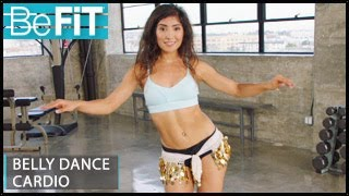 Belly Dance Cardio Workout for Weight Loss: Leilah Isaac