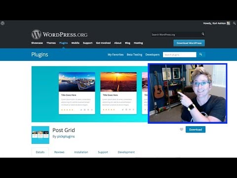 How to Add Posts into a WordPress Page