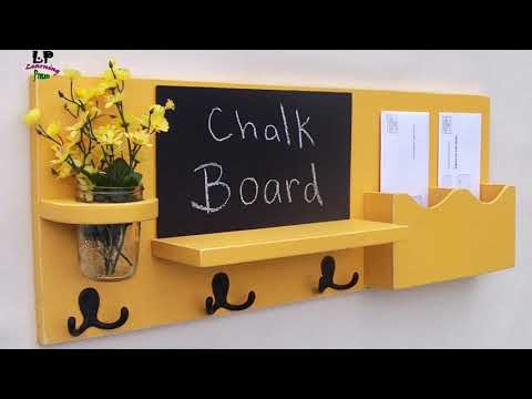17 cool and creative ways to make key holder ideas for home decor   Learning Process