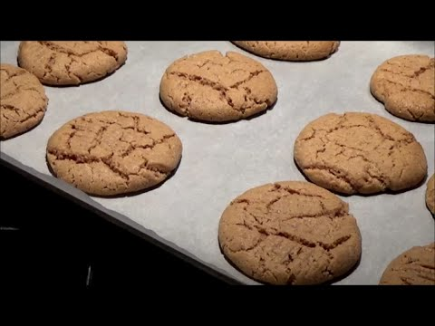 Natural Peanut Butter Cookies
