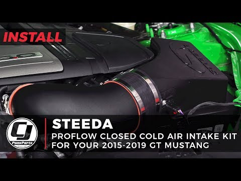 Mustang Install: Gold Pony Stopped By To Help Install A Steeda Cold Air Intake