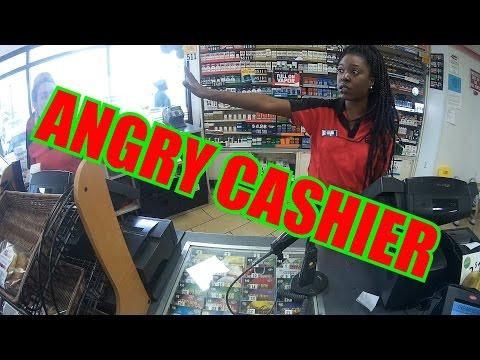 Motovlog: ANGRY GAS STATION CASHIER