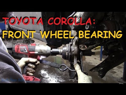 Toyota Corolla: Front Wheel Bearing Replacement