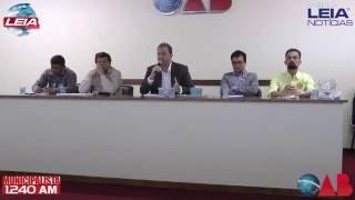 Botucatu: debate entre os candidatos a prefeito - Leia Notícias, Municipalista e OAB