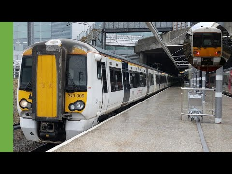 Stansted Express leaves the Airport