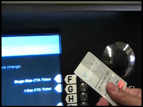 Loading Cash to Ventra Card