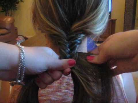 How to Fishtail Braid Your Hair