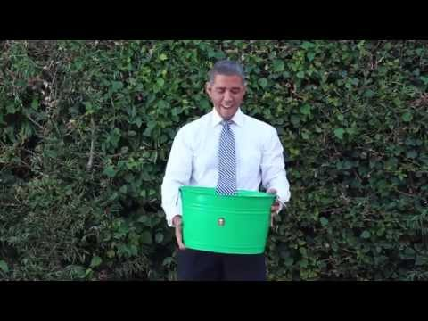 Barack Obama Accepts The ALS Ice Bucket Challenge