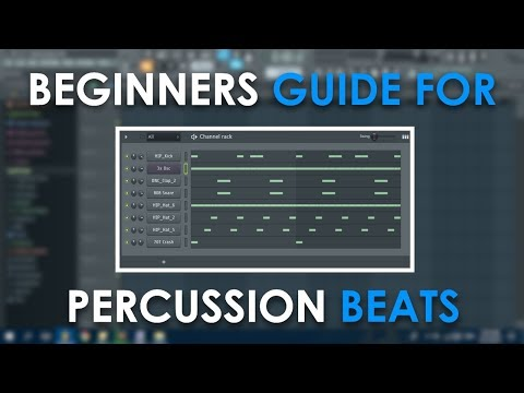 Beginners Guide | Percussion Instruments for Hip Hop and Trap Music