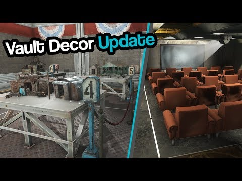 Fallout 4   Vault VII - Movie Theater, Science Fair, Experiment Rooms