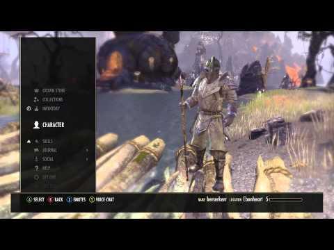 Elder Scrolls ONLINE : STAVES Spiritmender : Drain Staff 1080 HD
