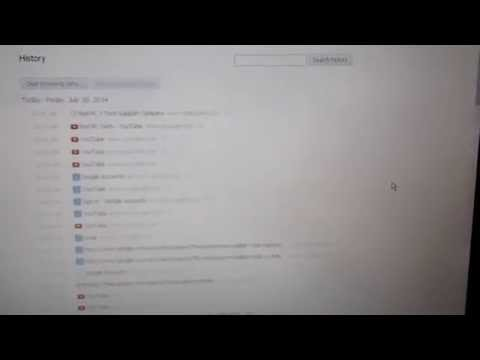 How to delete history from google chrome browser