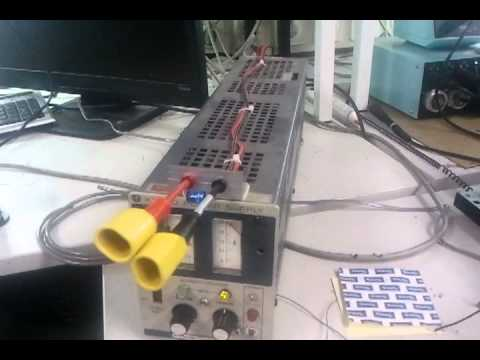 Electrolytic capacitor exploding.
