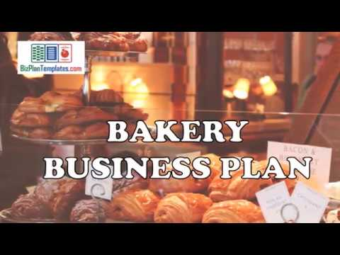 BAKERY BUSINESS PLAN - Template with example and sample
