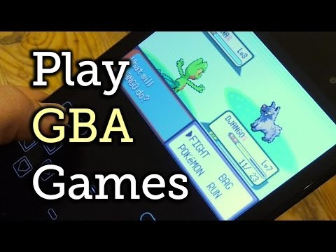 Play Game Boy Advance Games on Your Nexus 7 Tablet [How-To]
