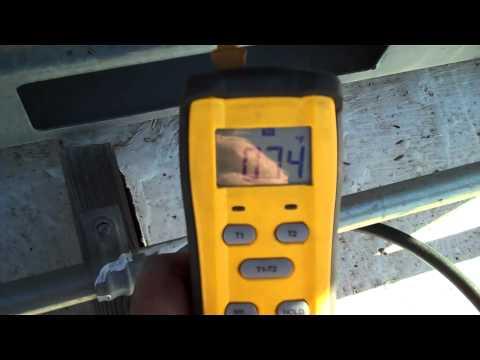 diagnostics heat pump in heating mode