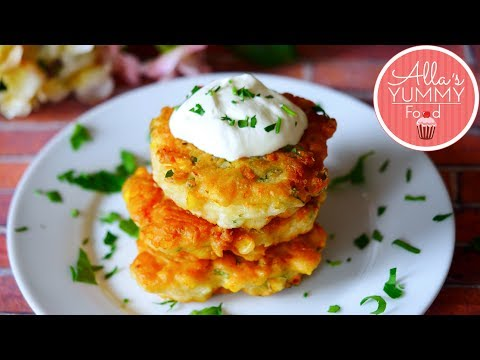 Cheddar & Chilli Corn Fritters Recipe