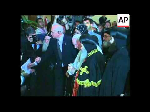 +4:3 File of pope of Egypt's Coptic Christian Church who has died