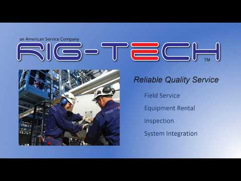 Rig-Tech. LLC an American Service Company -Houston Texas