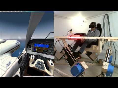 Xxx Mp4 DIY 6DOF Motion Platform FlyInside FSX Oculus Rift DK2 PHOG To PHTO 3gp Sex