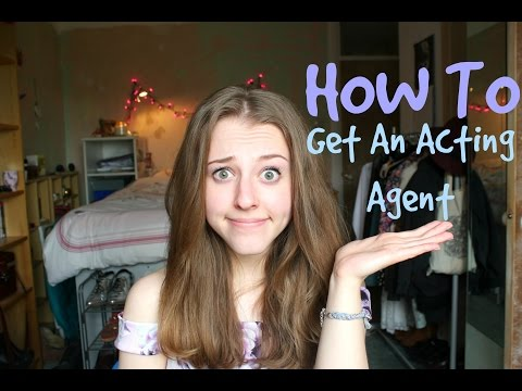 How To Get An Acting Agent | Georgie Minter-Brown