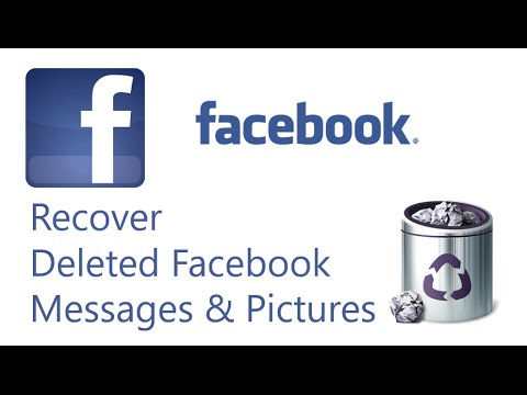 Recover Deleted Facebook Messages, Pictures & All Details