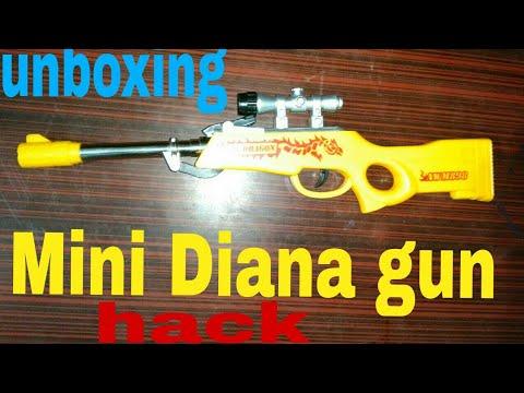 Unboxing mini Diana gun ll buy on Flipkart, Amazon