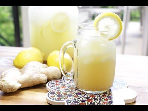 Ginger lemonade | The Buddhist Chef