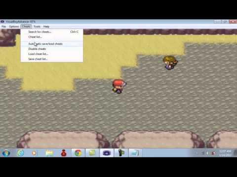 Pokemon LeafGreen Legendary codes