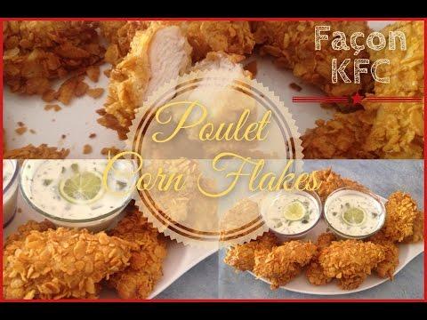 ✽Poulet Corn Flakes Façon KFC.