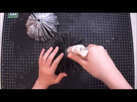 Thinking Of You 3D Paper Cupcake Tutorial