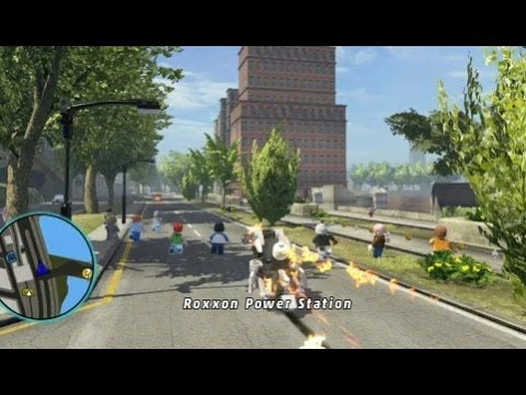 LEGO Marvel Super Heroes - Unlocking Ghost Rider's Motorcycle (All Ghost Rider Missions)