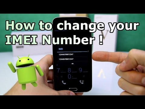 How to  change imei number in android mobile