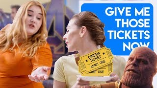 Download r/Entitledparents Stealing my Avengers Endgame Tickets! Video