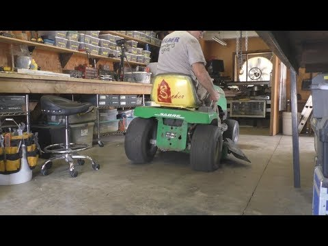 Rotted Riding Mower Seat Repair