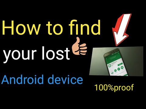 How to track lost stolen phone || Latest Update 2018