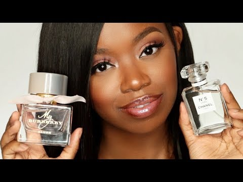 My Designer Perfume Haul - Perfect Spring Fragrances